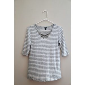 J. Crew Top! Size XS! Great used condition!